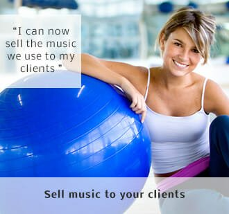 Sell music to your clients